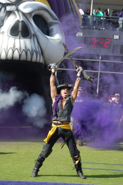 The Pirate brings forth emotion with the battle at hand.