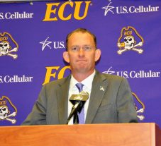 Joe Dooley, who was 57-52 in his previous stint as ECU basketball coach, opened his remarks Thursday by saying, 'It's good to be home.'