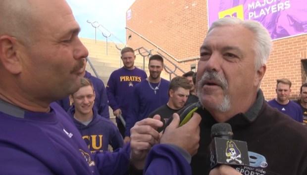 ECU Mustache March 2019: Cliff Godwin and Brian Bailey
