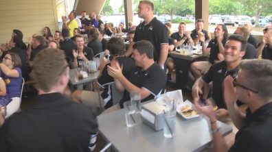 ECU Regional Pairings Party image #1 (courtesy WNCT-TV)