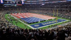 Pageantry and Patriotism at AT&T Stadium (submitted photo)