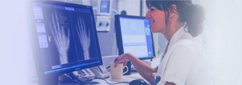 Automated bone age estimation