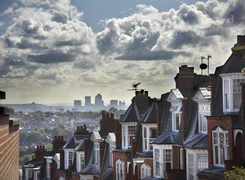London skyline for bonfire stoves