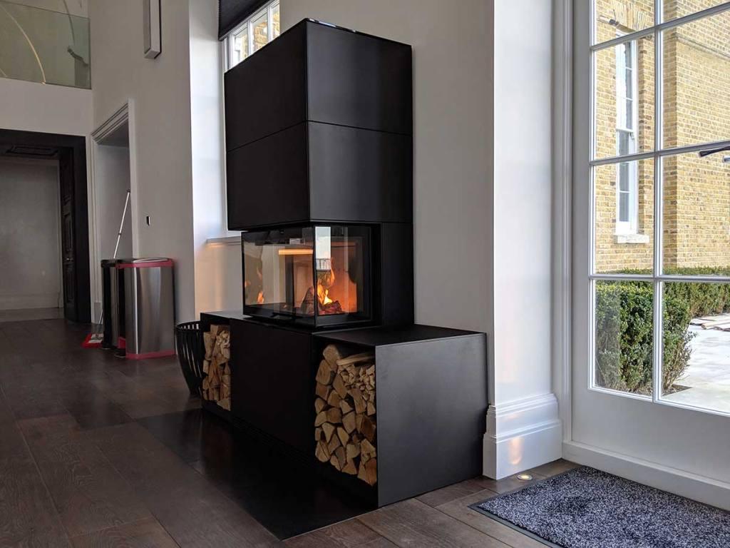 Contura i51 Wood Burning Stove Installation
