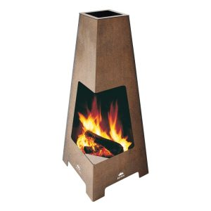 Jotul Terrazza with wood burning
