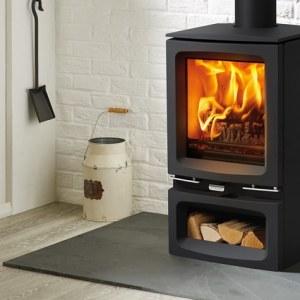 vogue small woodburning with optional midline base 2018 mi