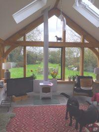 Charnwood Bembridge White Stove Installation