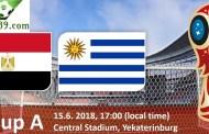 Nhận định Ai Cập và Uruguay vòng bảng A Word Cup 2018 ngày 15/06