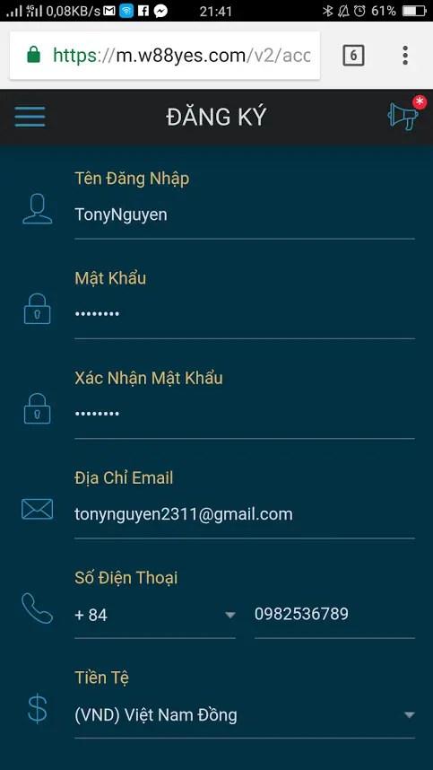 ban ca san thuong dang ky w88 nhu the nao 1 Cách đăng ký w88 để tạo tài khoản bắn cá săn thưởng 2017