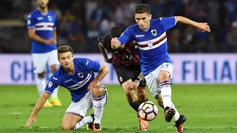 %name Tiền vệ Lucas Torreira: Tên lửa mới nhất từ bệ phóng Sampdoria