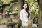 Mê mẩn nàng Chu Thị Huyền Trang xinh như hoa hậu