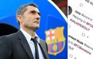 Fan Barca đòi sa thải HLV Valverde sau thất bại trước Liverpool