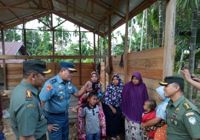 Waaste dari Mabes TNI Cek Opster di Aceh Utara