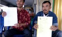 Ditetapkan Sebagai Tersangka , Warga Minta Berhentikan Kades Kuala Makmur