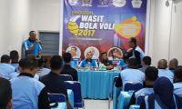 Wasit Voly Aceh dibekali Pelatihan oleh Kemenpora