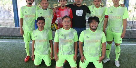 Pecundangi PFI 3-1, Tim IWO Melaju ke Semifinal Liga Futsal Piala Eramas