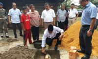 Sesuai Janji Bupati,Pemkab Siak Bangun Rumah Bufon Sinaga Atlit Kanca Internasional