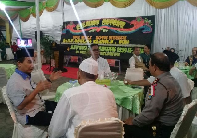 Camat Belawan Sambut Safari Ramadhan Pemko Medan