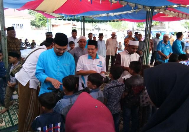 Partai SIRA Aceh Utara Buka Puasa Bersama dan Santuni Anak Yatim