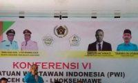 Konferensi Ke VI, Sayuti Ahmad Kembali Pimpin PWI Lhokseumawe-Aceh Utara