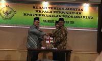 Bupati Siak H Syamsuar Menghadiri Acara Pisah Sambut Kepala Perwakilan BPK Provinsi Riau