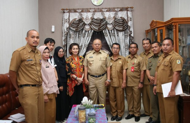 Bupati Sergai Terima Audensi Yayasan Bangga Jadi Indonesia