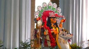 Krishnanagar jagadhatri