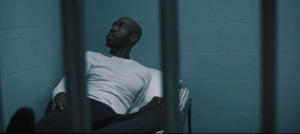 "A clip of Freddie Gibbs in ""Crushed Glass"" music video."