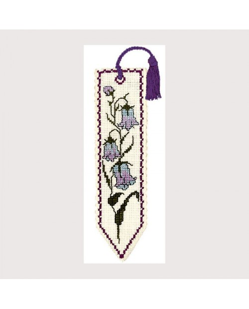 Marque Page Point De Croix : marque, point, croix, Marque-page, Clochette, Textile, Heritage, Collection