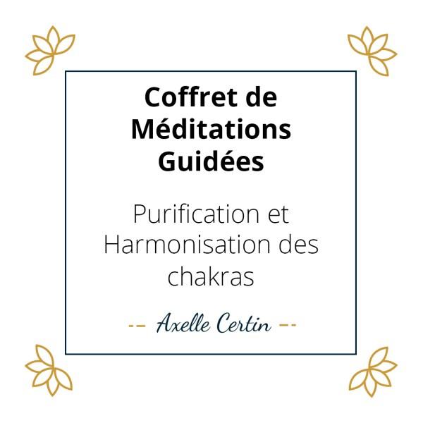 Coffret purification et harmonisation des chakras