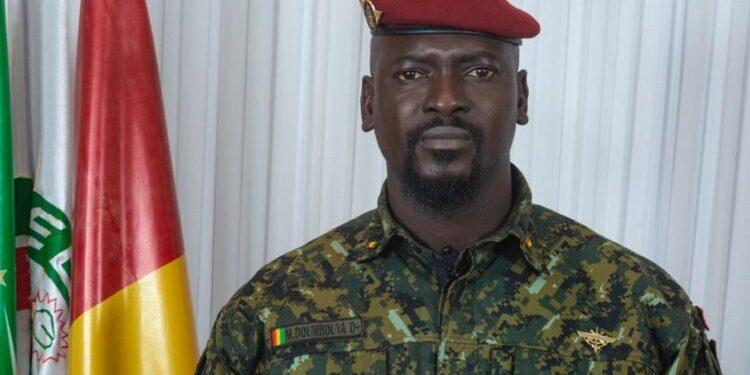 Colonel Mamady Doumbouya, président de la transition