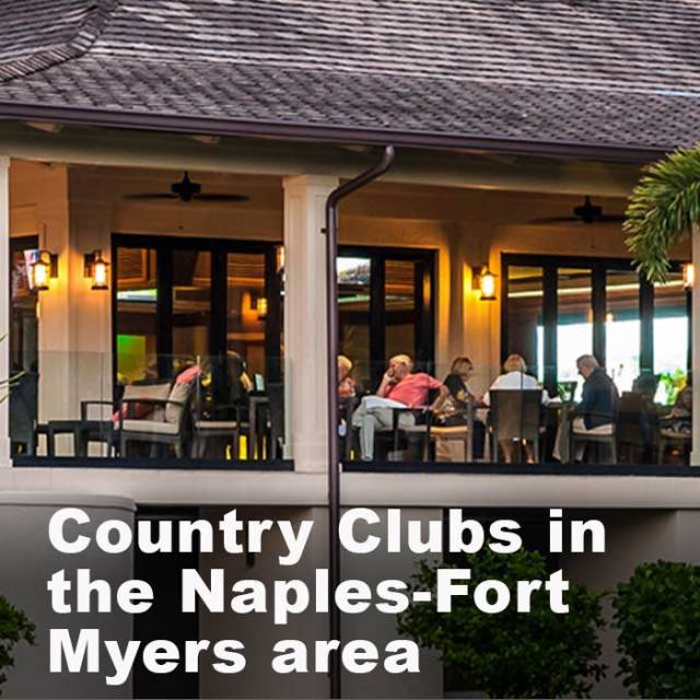Country Clubs in Naples-Fort Myers FL area