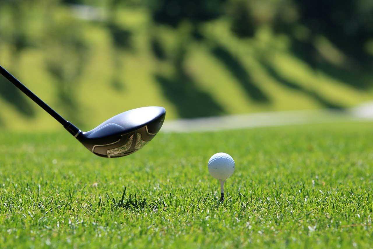 Golfing at Golf Club