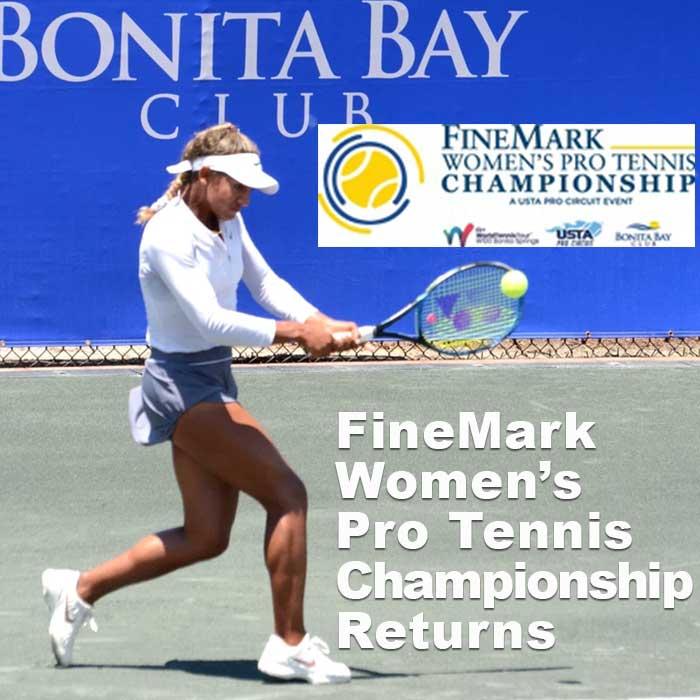 Women's Pro Tennis Championship at Bonita Bay Club 2019 player