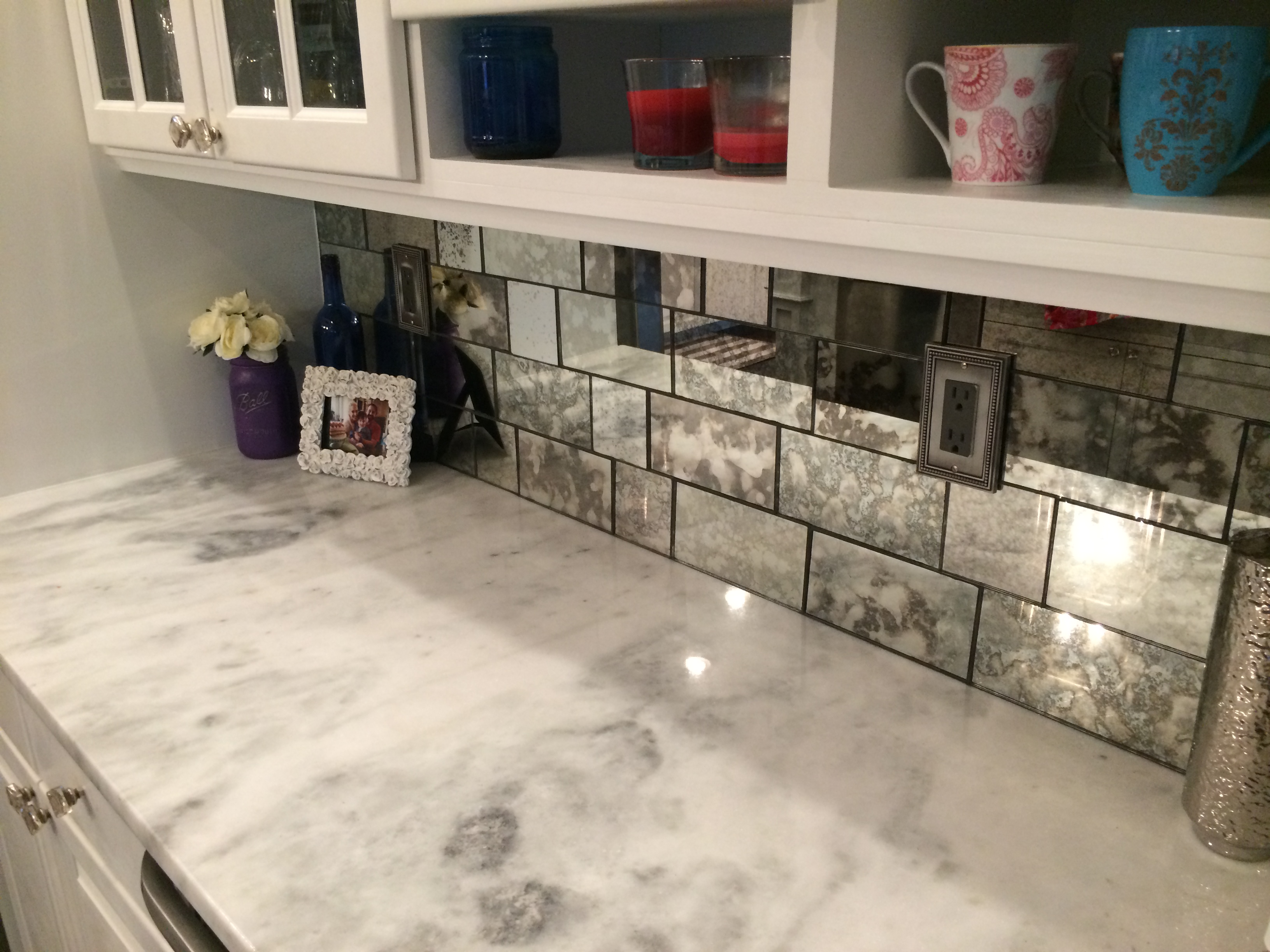 antique mirror tiles the glass shoppe