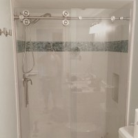 Barn Style Glass Shower Doors   The Glass Shoppe A ...