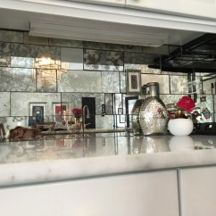Diy Floating Shelves For My Living Room Blinds Lowes Antique Mirror Backsplash Installed