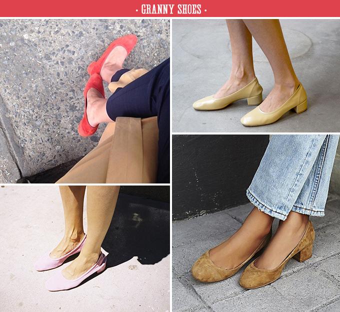 Resultado de imagen para granny shoes