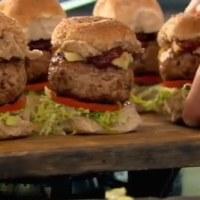 レシピ#45 豚肉のミニバーガー バーベキューソース味 Smokey pork sliders with BBQ sauce