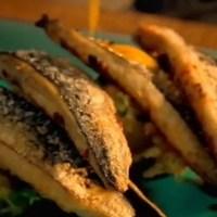 レシピ#22 焼きサバのニンニクとパプリカ風味Roasted mackerel with garlic & paprika