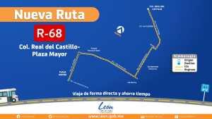 RUTA CONVENCIONAL R-68