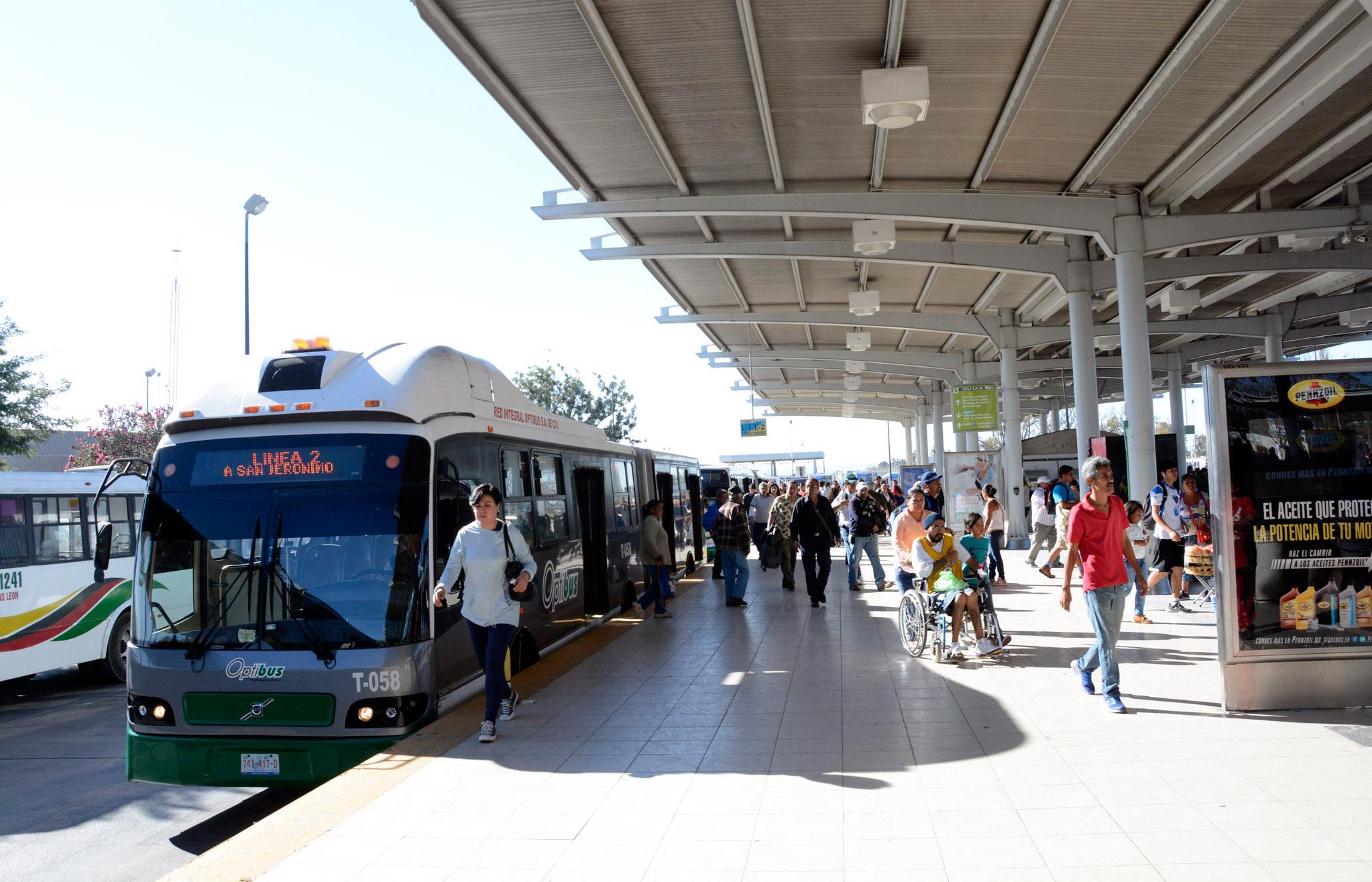 Transporte Urbano León