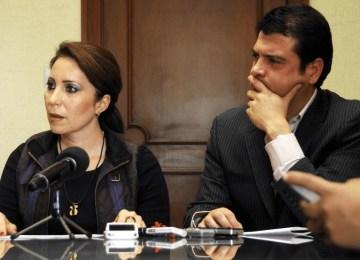 Bárbara Botello y Roberto Pesquera