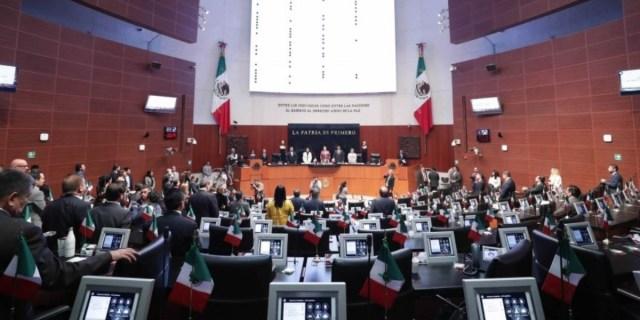 Sesión ordinaria en el Senado