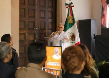 Ariel Rodríguez en su primer informe