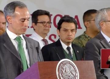 El subsecretario Hugo López Gatell anuncia el inicio de la fase 2 para contener el coronavirus
