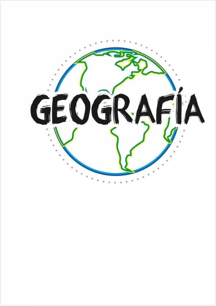 Caratula de geografa