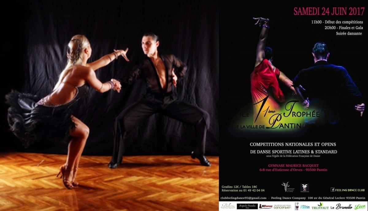 Le gratin de la danse sportive sera à Pantin le 24 juin!