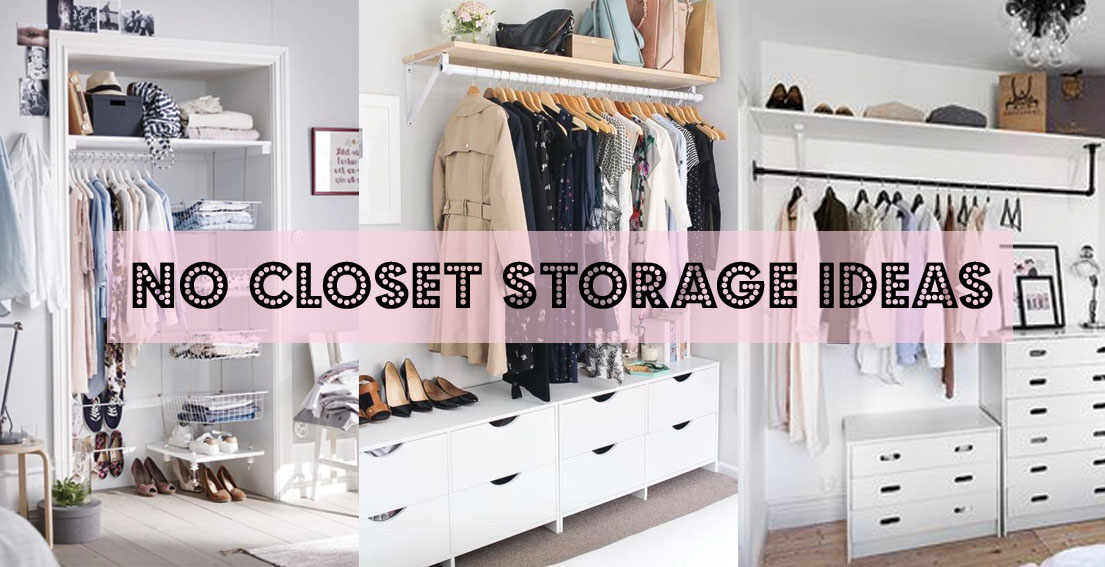 3 No Closet Solutions For Your Bedroom Bonjour Chiara