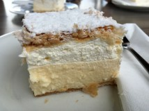 Bled cream cake (kremsnita) - Real Food Adventure Slovenia and Croatia